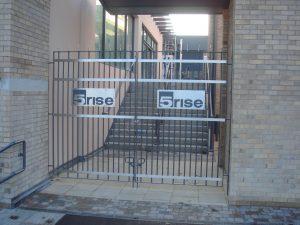Office gates metalwork